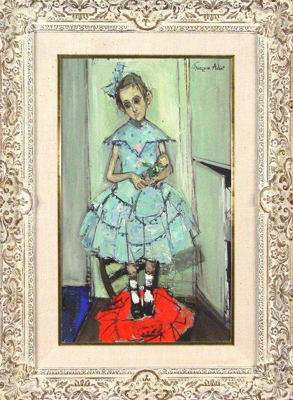 4: Francoise Adnet (b. 1924) French