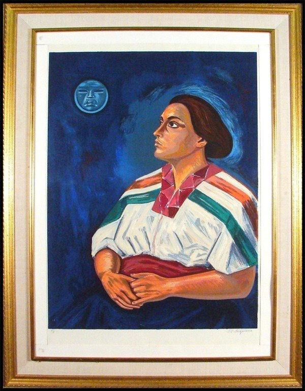 10: Raul Anguiano (1915-2006) Mexican