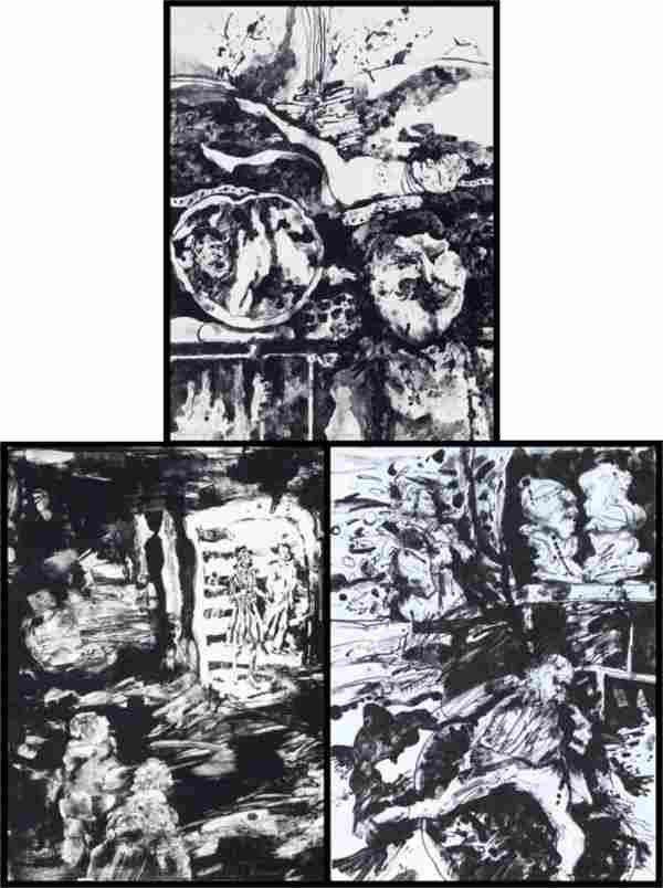 305: Joyce Treiman (1922-1991) American (three)