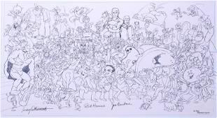 Hanna-Barbera Studios design by Iwao Takamoto