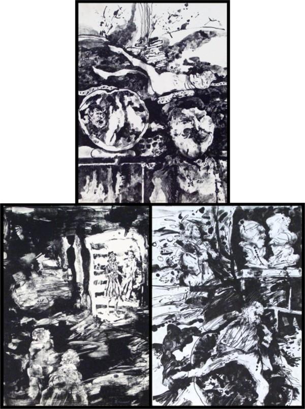 264: Joyce Treiman (1922-1991) American (three)