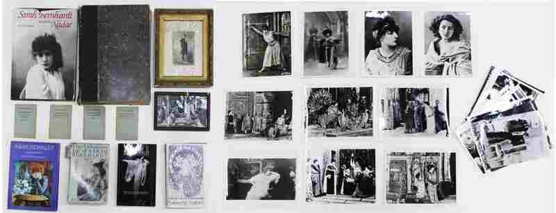 Sarah Bernhardt 19th/ 20th ephemera collection