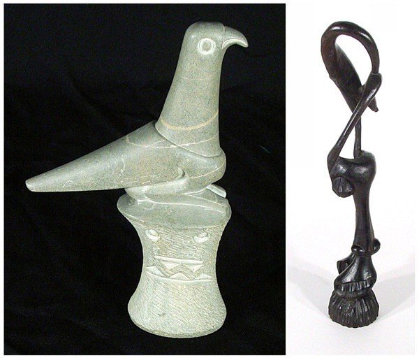 1: African Art: Zimbabwe & Makonde (three)