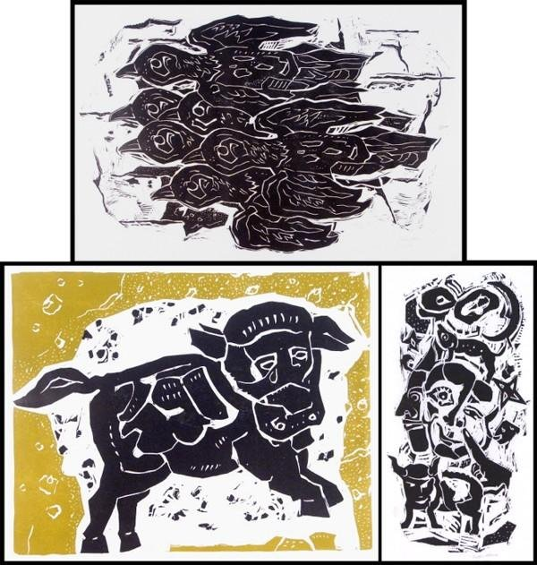 6: Peter Alma (1186-1969) Dutch (three)