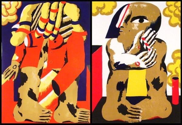 15: Horst Antes (b. 1936) German (two)