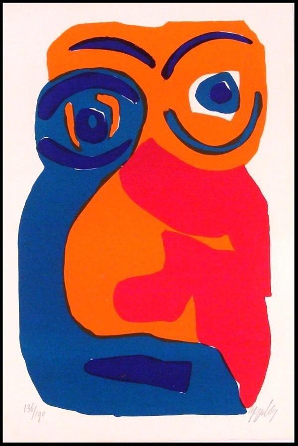 16: Karel Appel (1921-2006) Dutch
