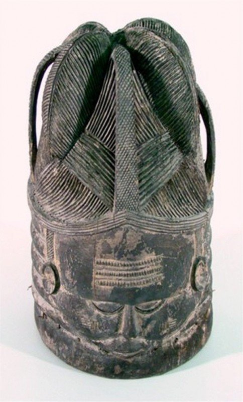 1: African Mask: Mende from Sierra Leone