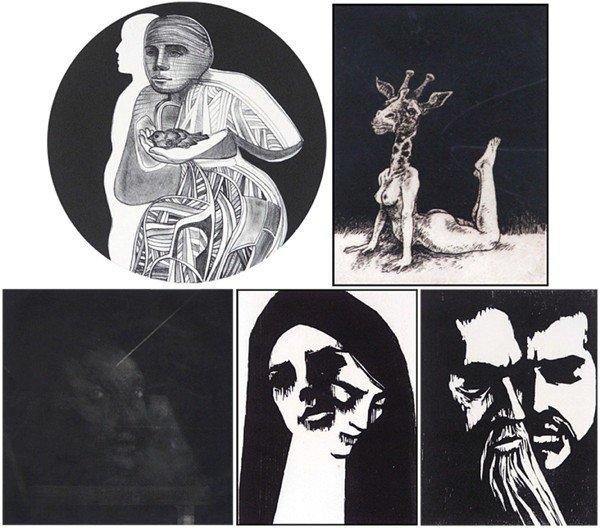 18: Arnold Belkin, Jack Coughlin, Ernesto Camps & Deann