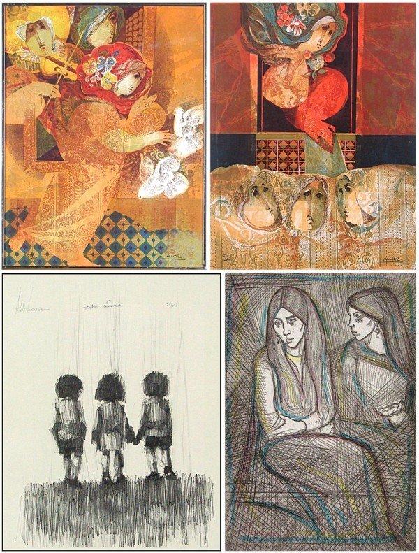9: Sunol Alvar, Aldo Luong, Irving Amen & Elke Sommers,