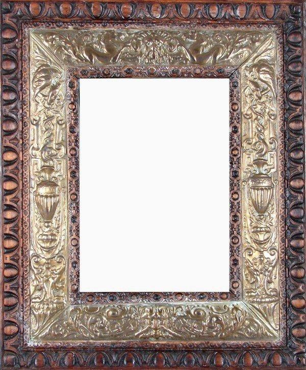 13: Antique English Mirror (19th/ 20th Century)