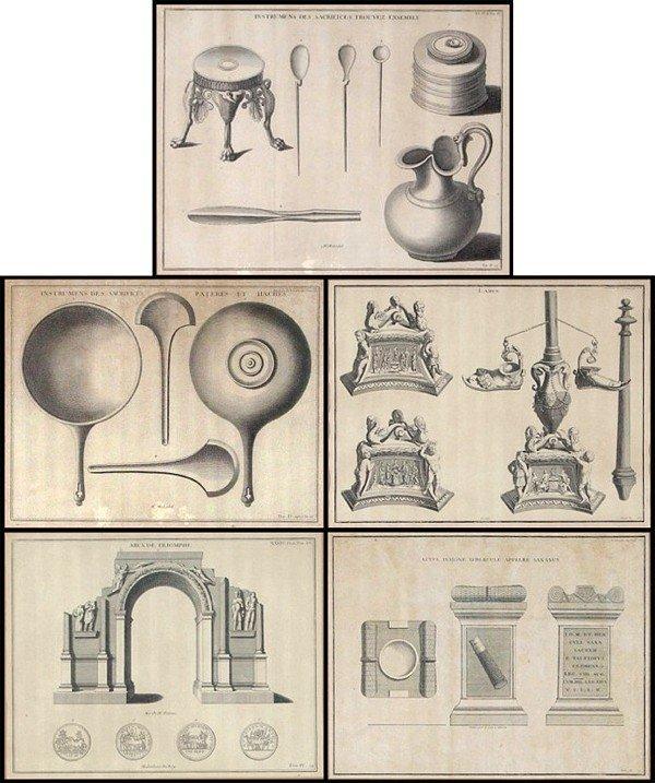 14: Antique Engravings (18th/ 19th Century) British
