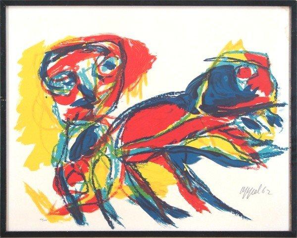 15A: Karel Appel (1921-2006) Dutch