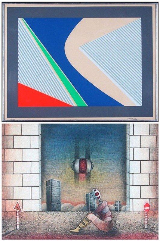 16: Michael Argov (1920-1982) & Moshe Malka (two)