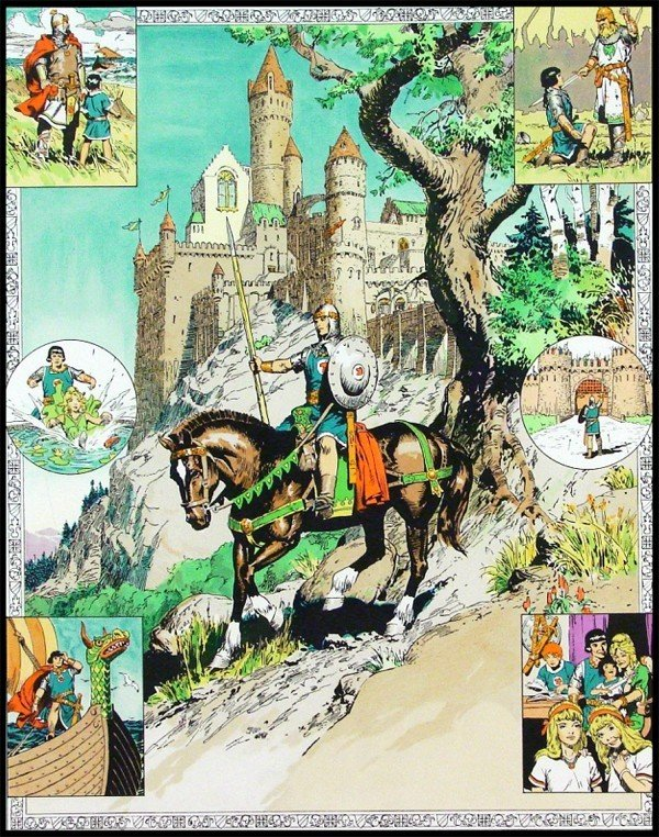 51: Comic Artist: Hal Foster (20th Century)