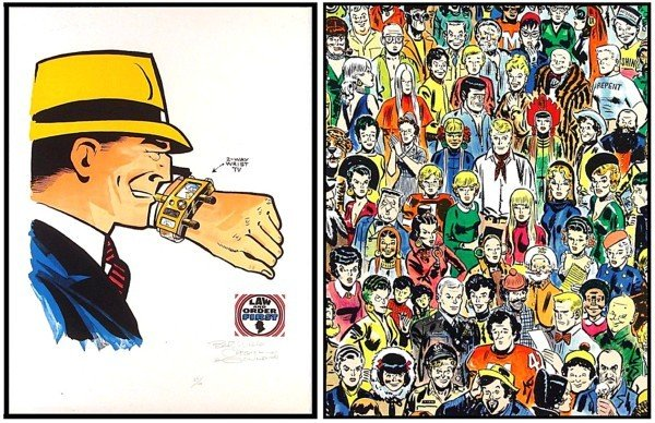 52: Comic Artists: Chester Gould & Milton Caniff (20th