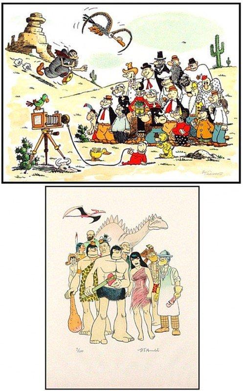 53: Comic Artists: Bud Sagendorf & V. T.  Hamlin (20th