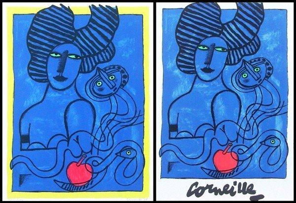 57: Corneille (1922-2010) Belgium (two)