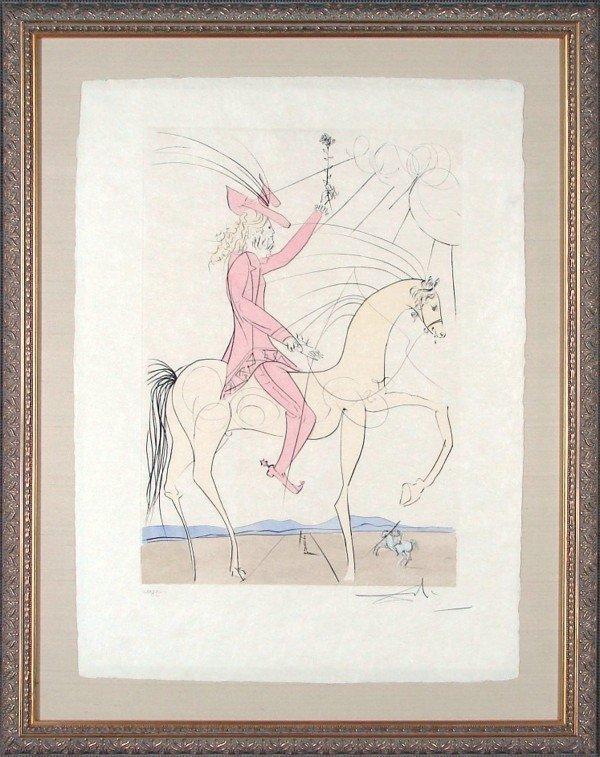 60: Salvador Dali (1904-1989) Spanish