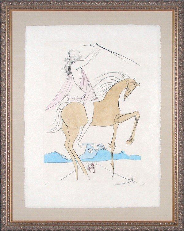 61: Salvador Dali (1904-1989) Spanish
