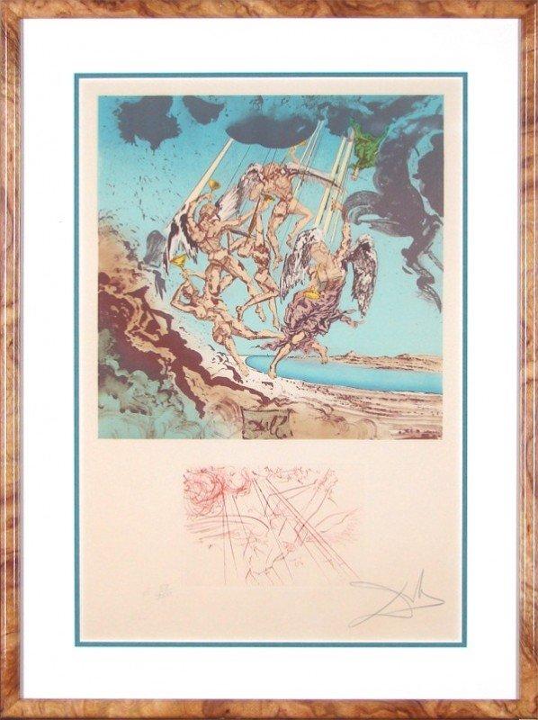 62: Salvador Dali (1904-1989) Spanish