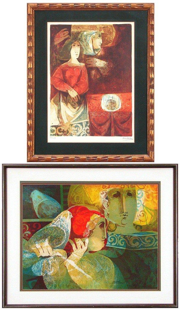 13: Sunol Alvar (b. 1935) Spanish (two)