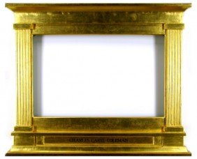 Decorative Arts: Mantle Frame