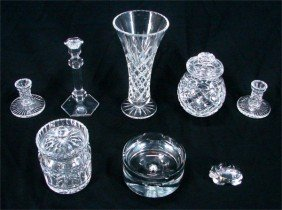 Decorative Arts: Glass Collection (eight)
