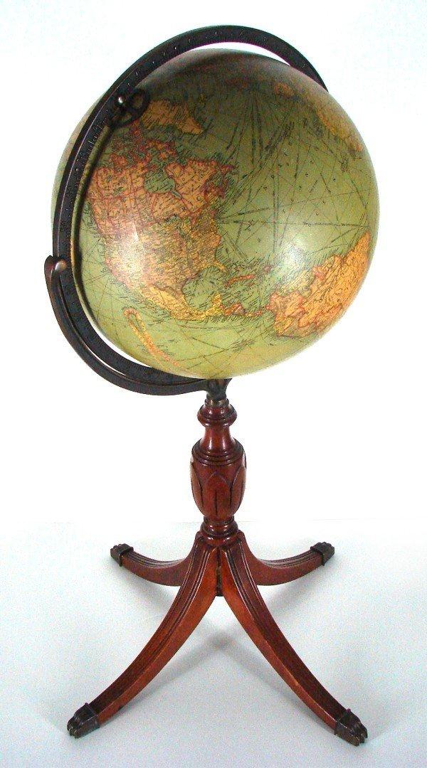 97: Decorative Arts: Repogle Globe (early 20th Century)