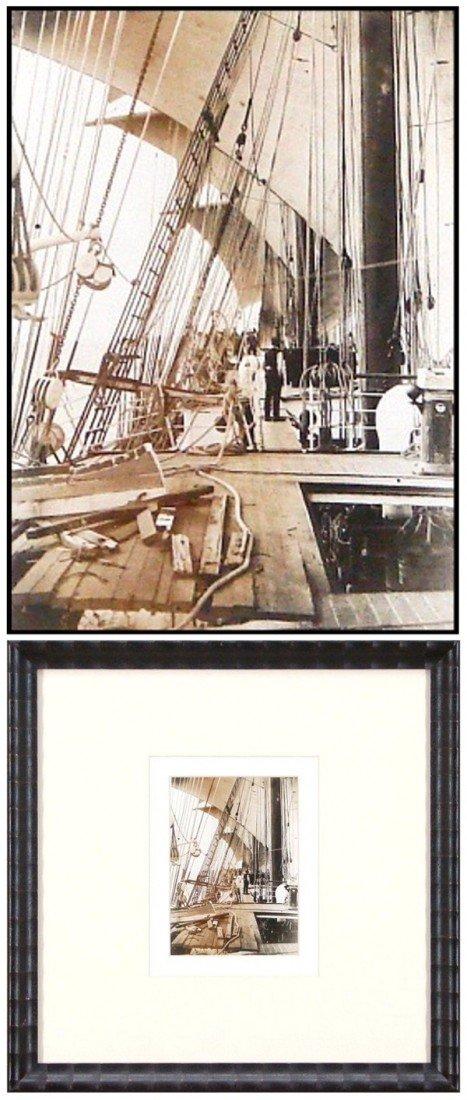98: Decorative Arts: Historical Nautical Photograph