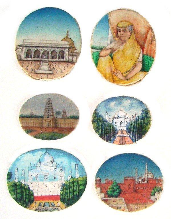 103: Decorative Arts: Miniature Paintings on Ivory (18t