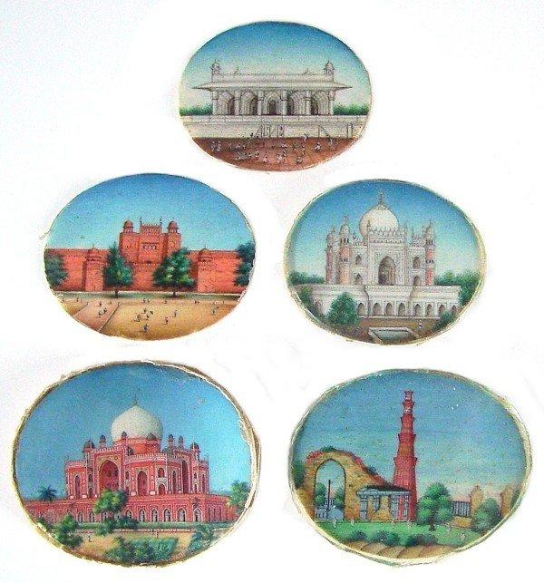 104: Decorative Arts: Miniature Paintings on Ivory (18t