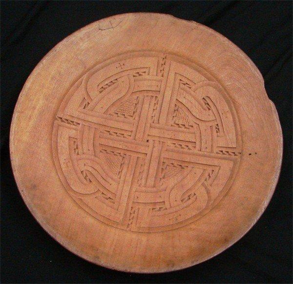 111: Decorative Arts: Surinam platter
