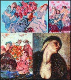 15: Lea Avizedeck, after Renoir & Linda Garcia (six)