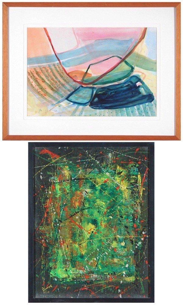 21: Gabi Ben Jano (20th Century) Israeli & Dorrell (two