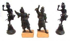 341: Southeast Asian Statues (four)