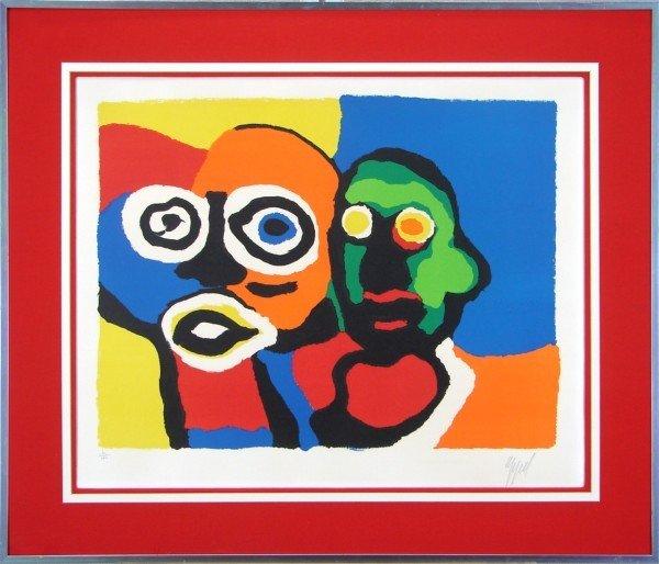 20: Karel Appel (1921-2006) Dutch