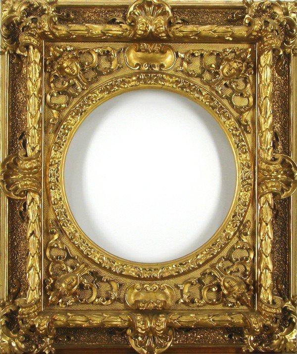 74: Decorative Arts: Ornate Gold-Leaf Frame
