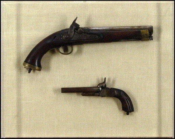 76: Decorative Arts: 18th Century Pistols