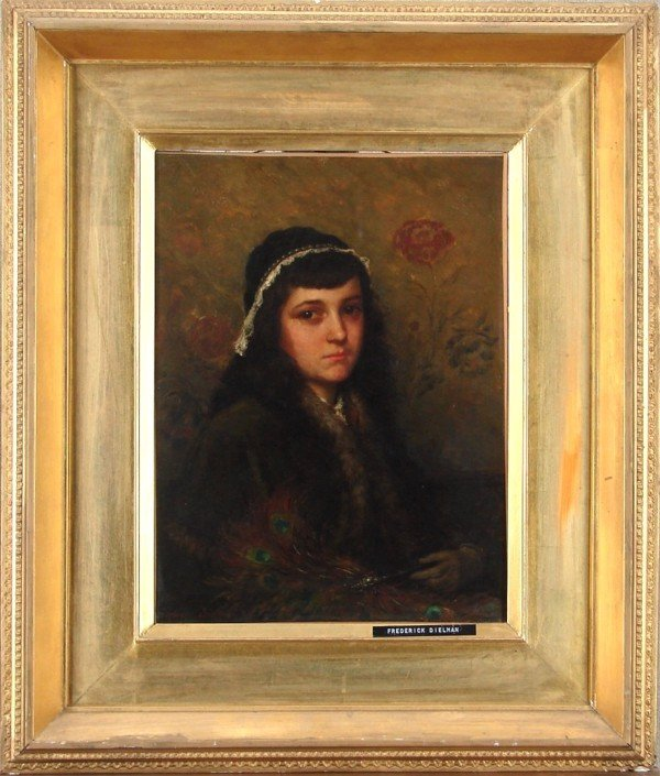 82: Frederick Dielman (1847-1935) German