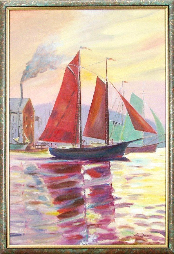 86: Frank Van Dongen (20th Century) Dutch American