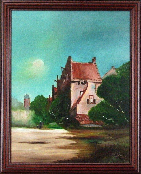 87: Frank Van Dongen (20th Century) Dutch American