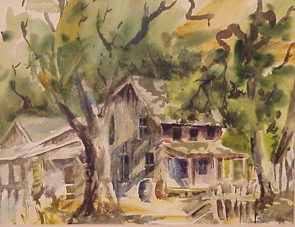 412: American Watercolorist (20th Century)