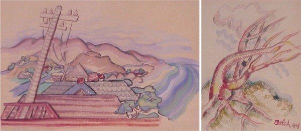 420: Winifred Balch (20th Century) American (two)