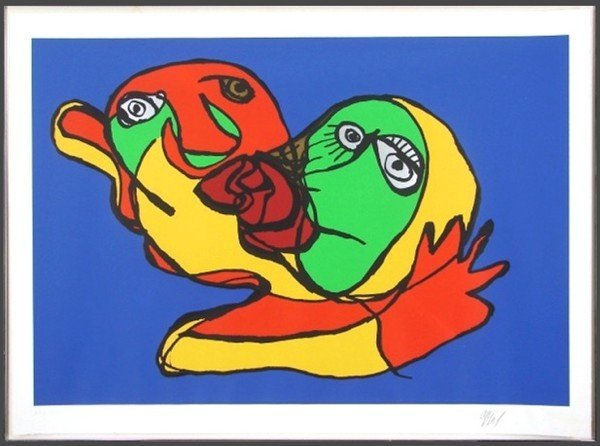 16: Karel Appel (1921-2006) Dutch