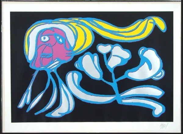 18: Karel Appel (1921-2006) Dutch