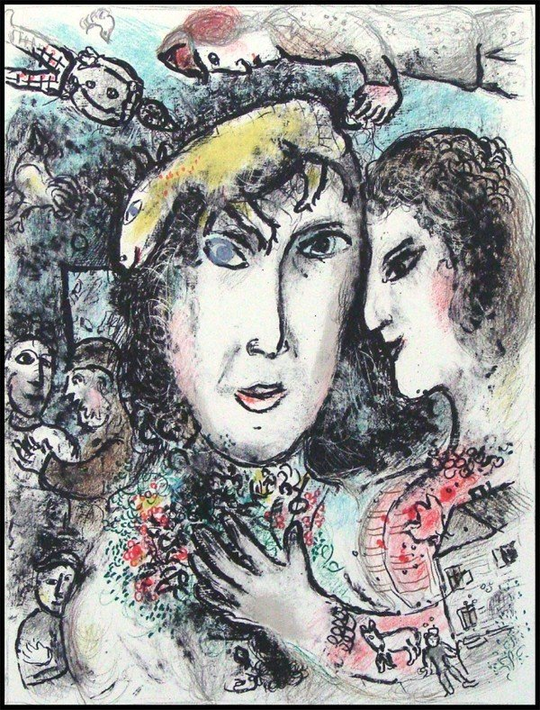57: Marc Chagall (1887-1985) Russian/ French