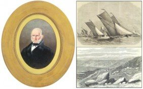 17: Antique Portrait & prints (three)