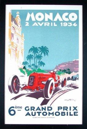 24: Automotive Racing Poster