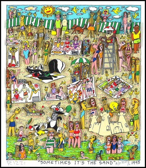 247: James Rizzi (b.1950) American