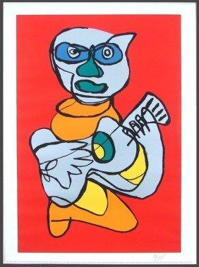 19A: Karel Appel (1921-2006) Dutch